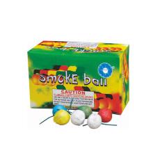 彩色烟雾球