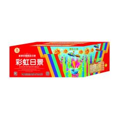 鑫祥烟花80发彩虹日景