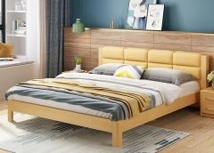 卧室家具-热销系列实木床-A家家居