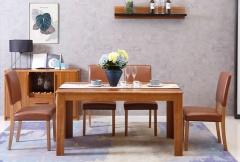 餐厅家具-逸彩系列实木餐桌-A家家居