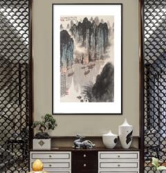 家装配画-千里江陵-扬剑画廊