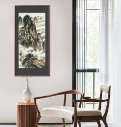 家装配画-白云深处-扬剑画廊