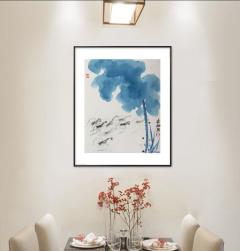家装配画-浅水游虾-扬剑画廊