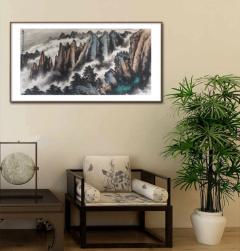家装配画-十里河山-扬剑画廊