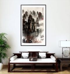 家装配画-锦绣山河-扬剑画廊