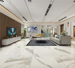 玻化砖-卡拉拉白-蒙娜丽莎陶瓷