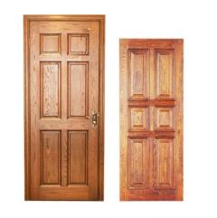 卧室门-平板式木门-高鹏原木定制