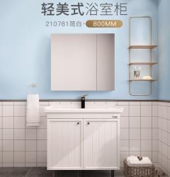 浴室柜-落地式轻美系列-东鹏整装卫浴