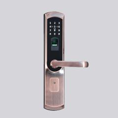 指纹锁-时尚EZ06-名门静音门锁