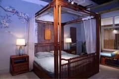 卧室家具-新中式架子床-天工木坊红木馆