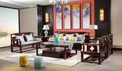客厅家具-客厅系列-天工木坊红木馆
