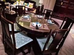 餐厅家具-餐厅系列-天工木坊红木馆