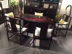 茶桌家具-茶桌系列-天工木坊红木馆