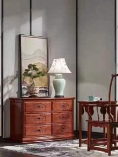 客厅家具-斗柜-天工木坊红木馆
