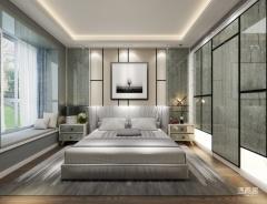 卧室定制-摩简格调系列-适而居全屋定制