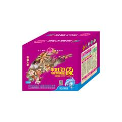 银江烟花100发华夏印象紫