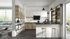 不锈钢橱柜-乡村风格波西塔诺2-金牌厨柜