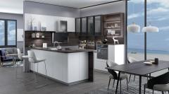 不锈钢橱柜-现代简约风亚丁2-金牌厨柜