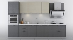 不锈钢橱柜-现代简约风阿玛尼1-金牌厨柜