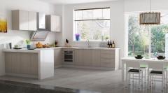 不锈钢橱柜-现代简约枫之木语-金牌厨柜