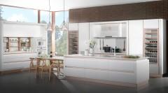 不锈钢橱柜-现代简约C4-金牌厨柜