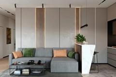 护墙板-现代轻奢风客厅实木系列-如意屋定制馆