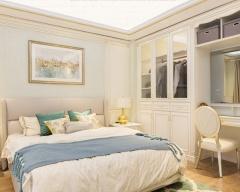 卧室定制-现代轻奢-尚品宅配