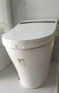 马桶-全自动翻盖自动清洗功能1011-荣事达