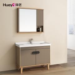 浴室柜-落地式美式风格-华艺卫浴
