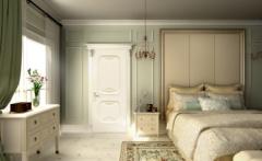 卧室门-简欧风格-百年天天木门
