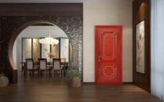 卧室门-中式风格-百年天天木门