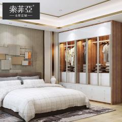卧室定制-白之境系列-索菲亚全屋定制