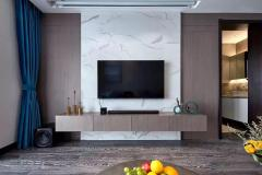 大理石墙面-电视背景墙1-金汇石材
