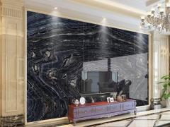 大理石墙面-电视背景墙5-金汇石材