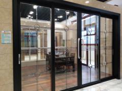 隔断门窗-116系列推拉门-岳州新银蓝光门窗