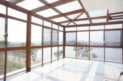 阳光房-蓝湖水岸-岳州新银蓝光门窗