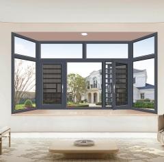 断桥平开窗-V20窗纱一体系列-掌门人门窗