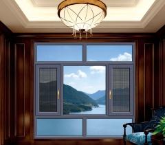 断桥平开窗-95至尊窗纱一体系列-掌门人门窗