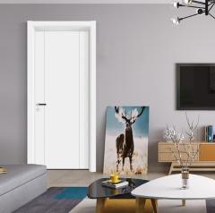 卧室门-白混油BYPB57-步阳安全门