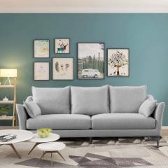 客厅家具-北欧风情布艺沙发-宽邸家居