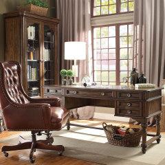 书房家居-美式乡村书桌套装-宽邸家居