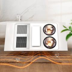 灯风结合型浴霸-灯风双效取暖HDP9021A-奥普浴霸