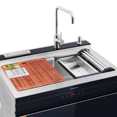 集成水槽-多功能烘干不锈钢-厨壹堂集成灶