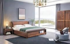 卧室定制-双人床-索法利全屋定制