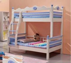 儿童房定制-上下双人儿童床-索法利全屋定制