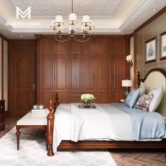 卧室定制-经典美式卧室衣柜定制-玛格全屋定制