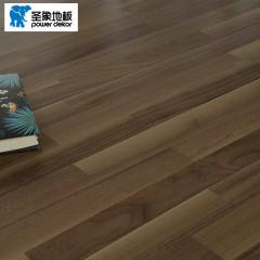 实木地板-焦糖黑胡桃-圣象地板