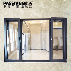 隔断门窗-92金刚网铝合金窗纱一体-帕斯沃门窗