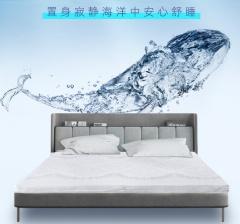 床垫-纯乳胶垫白鲸系列-美国舒达床垫