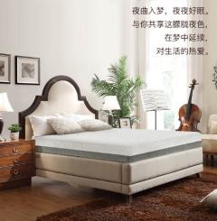 床垫-记忆棉肖邦系列-美国舒达床垫